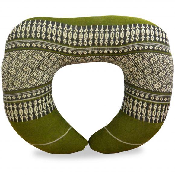 Kapok Neck Pillow, green