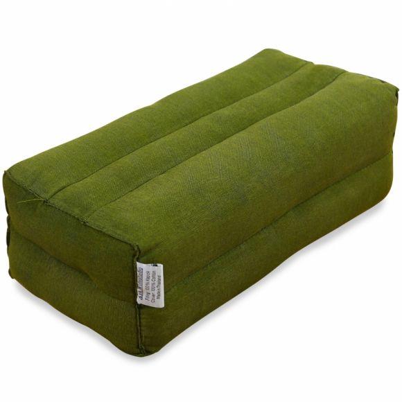 Block pillow (monochrome) green
