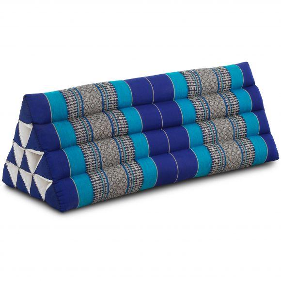 Triangle Cushion XXL-Width, blue