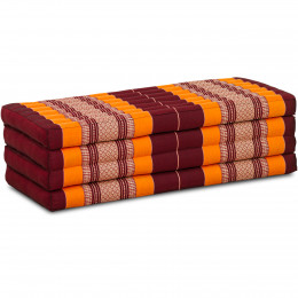 Folding Mattress, 200 cm x 110 cm, orange