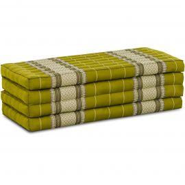 Folding Mattress, 200 cm x 110 cm, green