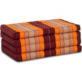 Folding Mattress, 200 cm x 80 cm, orange