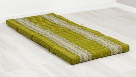 Folding Mattress, 200 cm x 80 cm, green