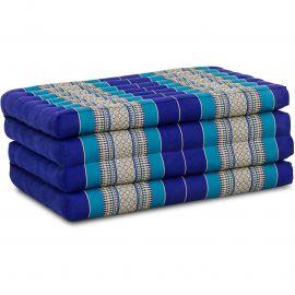 Folding Mattress, 200 cm x 80 cm, blue