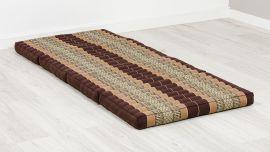 Folding Mattress, 200 cm x 80 cm, brown