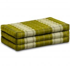 Folding Mattress, 140 cm x 70 cm, green