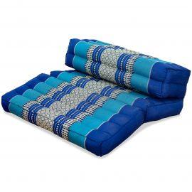 Block pillow (foldable) blue