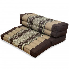 Block pillow (foldable) brown