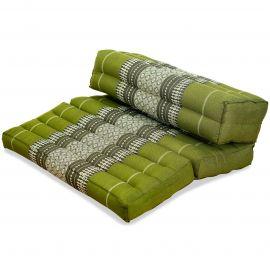 Block pillow (foldable) green