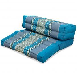 Block pillow (foldable) light blue