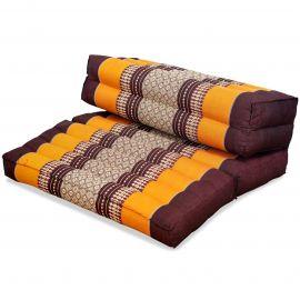 Block pillow (foldable) orange