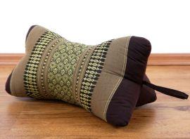 Bone Neck Pillow, brown