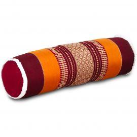 Kapok Bolster, Neck Pillow, orange