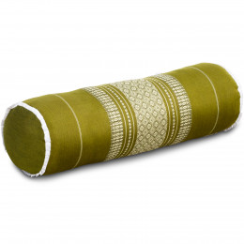 Kapok Bolster, Neck Pillow, green