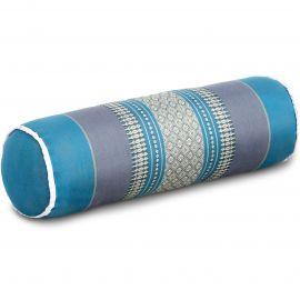 Kapok Bolster, Neck Pillow, light blue