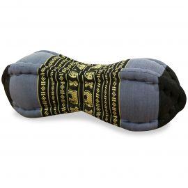 Papaya Neck Pillows, blue / elephants
