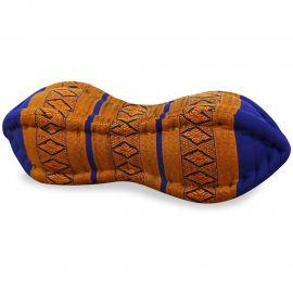 Papaya Neck Pillows, blue / yellow