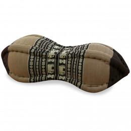 Papaya Neck Pillows, brown / elephants