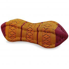Papaya Neck Pillows, red / yellow