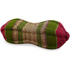 Papaya Neck Pillows, red / green