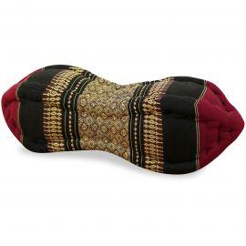 Papaya Neck Pillows, red / black