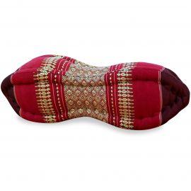 Papaya Neck Pillows, ruby-red