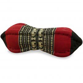 Papaya Neck Pillows, black / elephants
