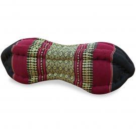Papaya Neck Pillows, black / red
