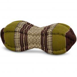 Papaya Neck Pillow, brown / green