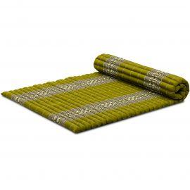 Roll Up Mattress, L, green elephants