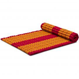 Roll Up Mattress, L, red / yellow
