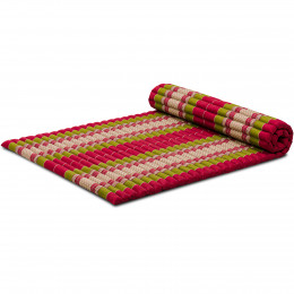 Roll Up Mattress, L, red / green
