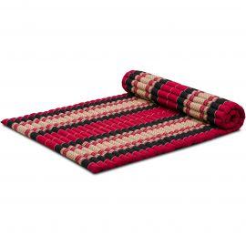 Roll Up Mattress, L, red / black