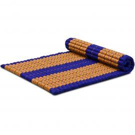 Roll Up Mattress, L, blue / yellow