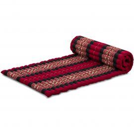Roll Up Mattress, M, red elephants