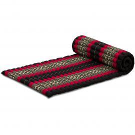 Roll Up Mattress, M, black elephants