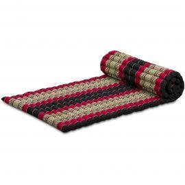 Roll Up Mattress, M, black / red