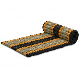 Roll Up Mattress, M, black / orange