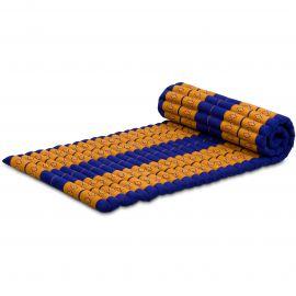 Roll Up Mattress, M, blue / yellow