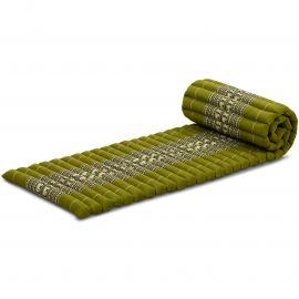 Roll Up Mattress, S, green elephants