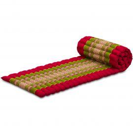 Roll Up Mattress, S, red / green