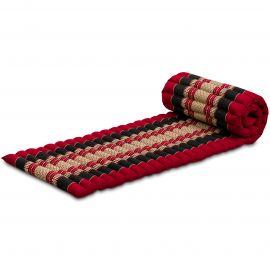 Roll Up Mattress, S, red / black