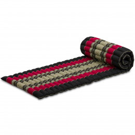 Roll Up Mattress, S, black / red