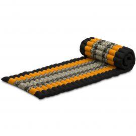 Roll Up Mattress, S, black / orange