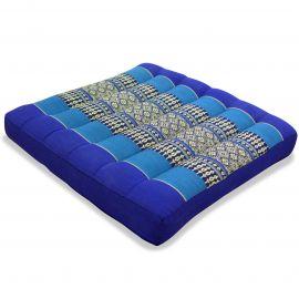 Kapok Seat Cushion, Size M, blue