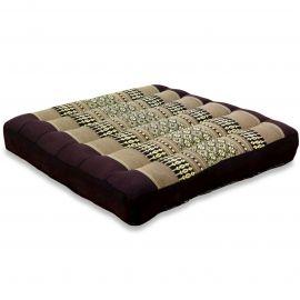 Kapok Seat Cushion, Size M, brown