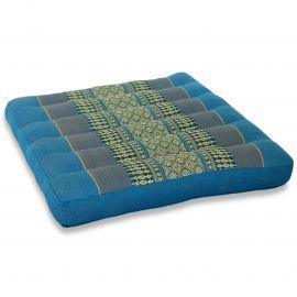 Kapok Seat Cushion, Size M, light blue