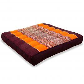 Kapok Seat Cushion, Size M, orange