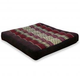 Kapok Seat Cushion, Size M, bordeaux