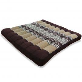 Kapok Seat Cushion, Size L,  brown